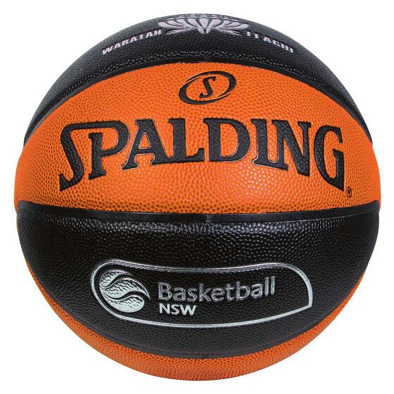 Spalding TF Grind Basketball New South Wales Basketball 7, Orange / Black, rebel_hi-res