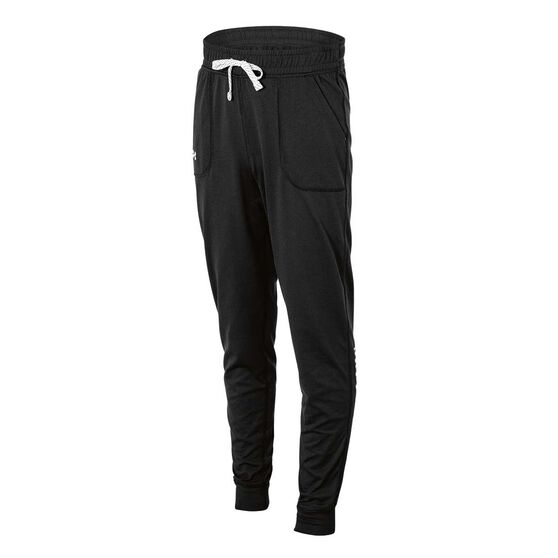 Under Armour Girls Graphic Tech Jogger Pants Black XS, Black, rebel_hi-res