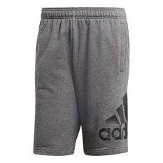 adidas Mens French Terry Chelsea Shorts Grey / Black S Adult, Grey / Black, rebel_hi-res