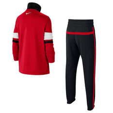 Nike Air Boys Tracksuit Red XS, Red, rebel_hi-res
