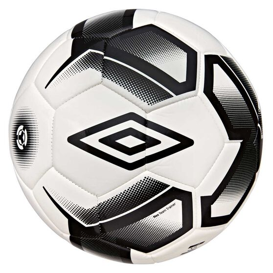Umbro Neo Team Trainer Soccer Ball, White / Black, rebel_hi-res