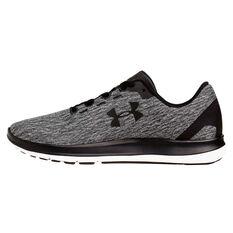Under Armour Remix Mens Running Shoes Black / Grey US 7, Black / Grey, rebel_hi-res