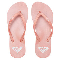Roxy Azul Womens Thongs Pink US 6, Pink, rebel_hi-res