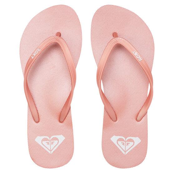 Roxy Azul Womens Thongs, Pink, rebel_hi-res