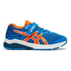 Asis GT 1000 8 Kids Running Shoes Blue / Orange US 11, Blue / Orange, rebel_hi-res