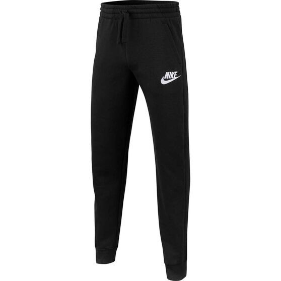 Nike Boys Sportswear Club Fleece Pants, Black / White, rebel_hi-res