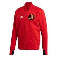 adidas Mens VRCT Jacket Scarlet S, , rebel_hi-res