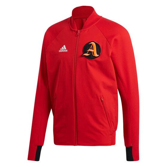 adidas Mens VRCT Jacket Scarlet M, , rebel_hi-res