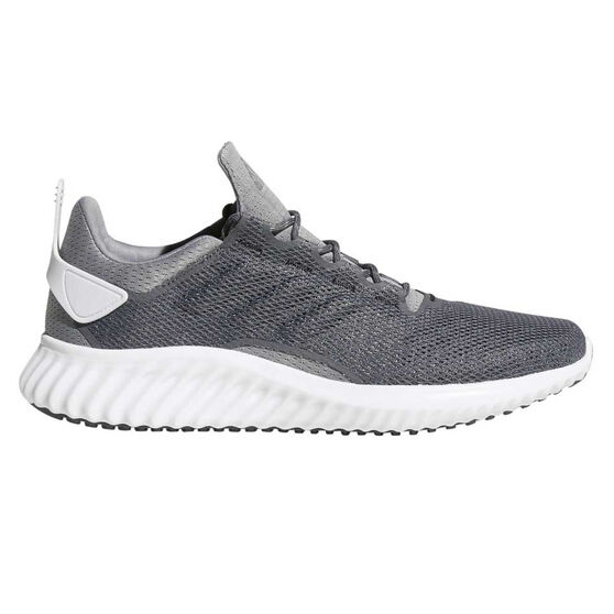 adidas Alphabounce CR Mens Running Shoes, Grey / White, rebel_hi-res