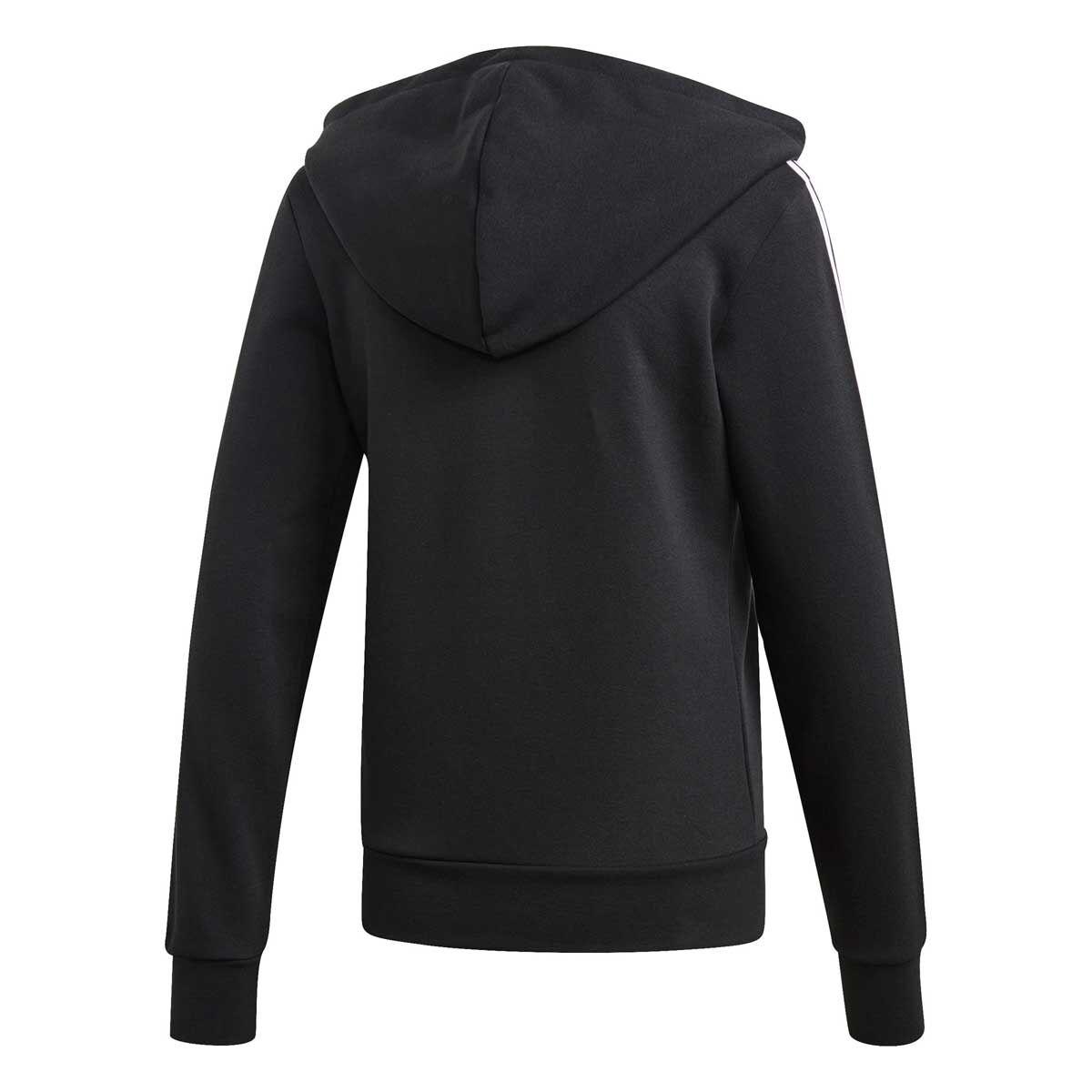 ADIDAS Men's Essentials 3 Stripe Fleece Hoodie