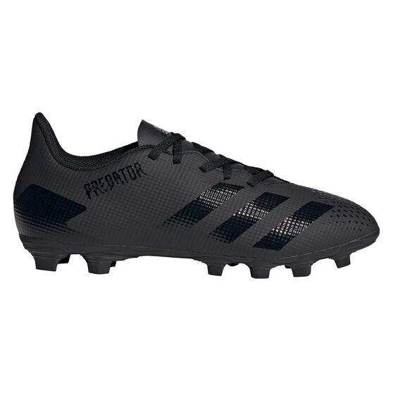 adidas Predator 20.4 Football Boots, Black, rebel_hi-res