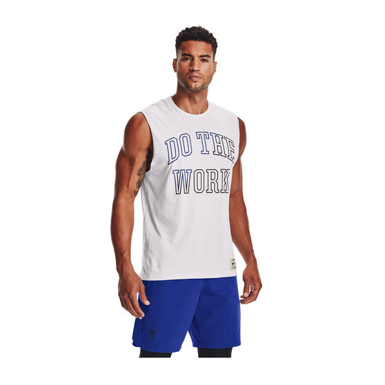 Under Armour Men Project Rock Do The Work Tank, , rebel_hi-res