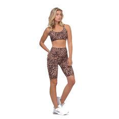 L'urv Womens Leopard Valley Bike Shorts Print XS, Print, rebel_hi-res