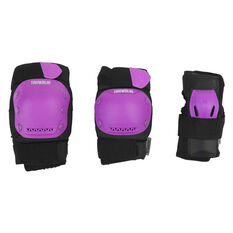Tahwalhi 3 Piece Safety Pads, Purple, rebel_hi-res