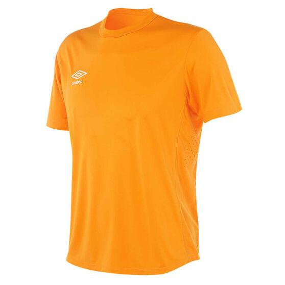 Umbro Mens League Knit Jersey, Orange, rebel_hi-res