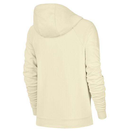 Nike Womens Sportswear Essential Funnel Neck Hoodie, White, rebel_hi-res