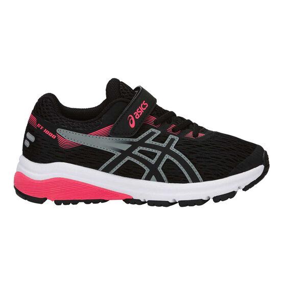 Asics GT 1000 7 Kids Running Shoes Black US 12, Black, rebel_hi-res