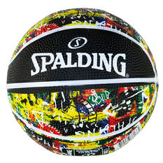 Spalding Graffiti Mini Basketball Rainbow 1, , rebel_hi-res
