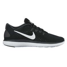 Nike Flex 2017 RN Mens Running Shoes Black / White US 7, Black / White, rebel_hi-res