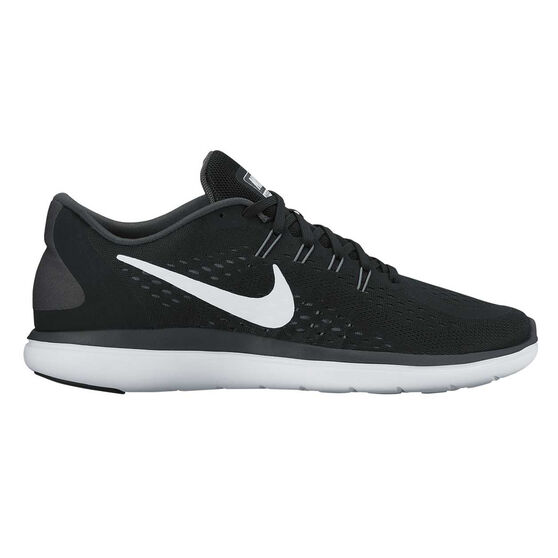 ea4415fa1ea Nike Flex 2017 RN Mens Running Shoes Black   White US 7