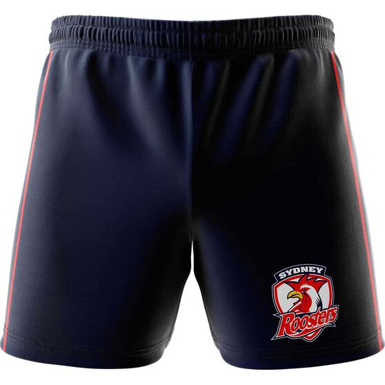 Sydney Roosters  Mens Club Fleece Shorts Navy, Navy, rebel_hi-res