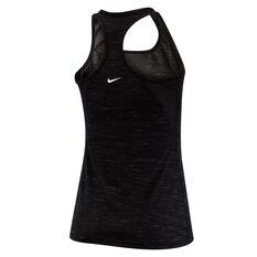 Nike Womens Dri FIT Legend Tank, Black, rebel_hi-res