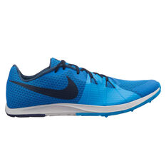 Nike Zoom Rival Waffle Mens Track Spikes Blue / Navy US 4, Blue / Navy, rebel_hi-res