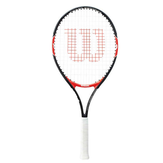 Wilson Federer 25in Junior Tennis Racquet Black / Red 25in, , rebel_hi-res