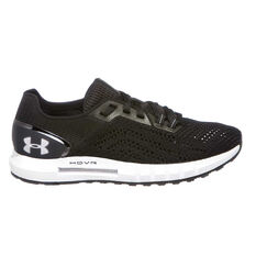 Under Armour HOVR Sonic 2 Womens Running Shoes Black / White US 6, Black / White, rebel_hi-res