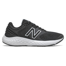 New Balance 520 v7 Womens Running Shoes Black/White US 6, Black/White, rebel_hi-res
