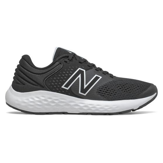 New Balance 520 v7 Womens Running Shoes, Black/White, rebel_hi-res