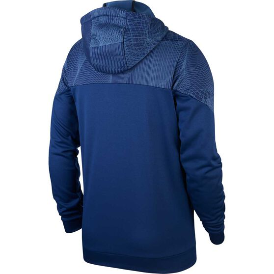 Nike Mens Therma Pullover Training Top, Blue, rebel_hi-res
