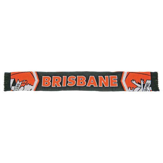 Brisbane Roar Cleave Jacquard Scarf, , rebel_hi-res