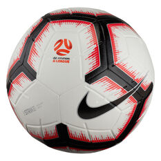 Nike A-League Strike Football Ball White / Black 3, White / Black, rebel_hi-res
