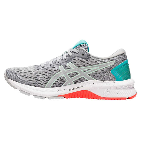 Asics GT 1000 9 D Womens Running Shoes, Grey/Mint, rebel_hi-res