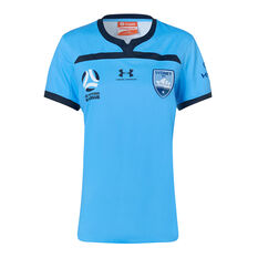 Sydney FC 2019/20 Womens Home Jersey Blue XS, Blue, rebel_hi-res