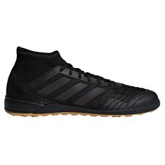 adidas Predator Tango 18.3 Mens Indoor Soccer Shoes Black / Black US 7.5 Adult, Black / Black, rebel_hi-res