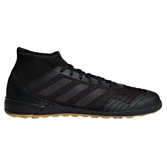 662ead182176 adidas Predator Tango 18.3 Mens Indoor Soccer Shoes, Black / Black,  rebel_hi-res