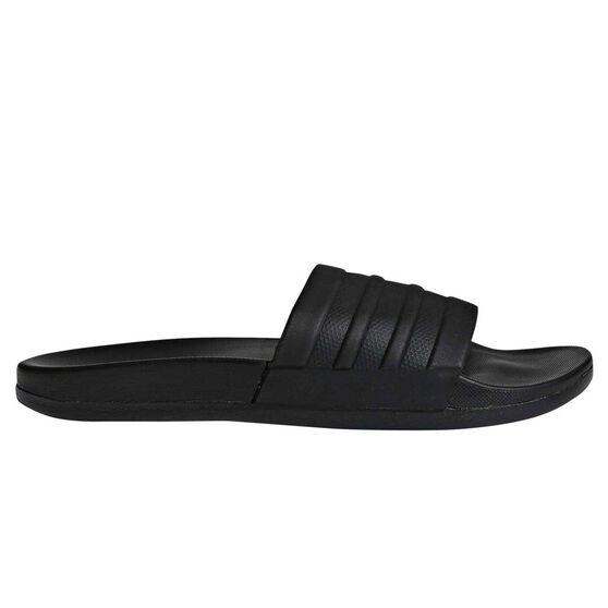 bcc18ec69b76 adidas Adilette Cloadfoam Plus Womens Slides Black US 8