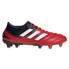 adidas Copa 20.1 Football Boots Red / White US Mens 5 / Womens 6, Red / White, rebel_hi-res