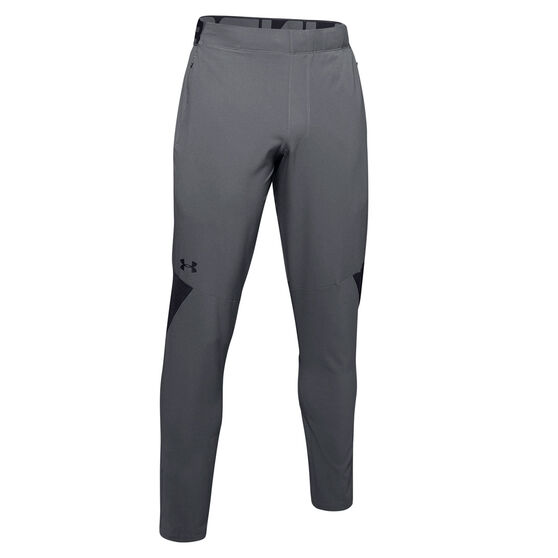 Under Armour Mens Vanish Woven Pants, Grey, rebel_hi-res