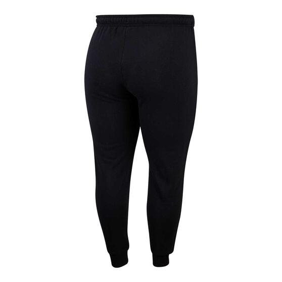 Nike Womens Sportswear Essentials Fleece Track Pants Plus, Black, rebel_hi-res