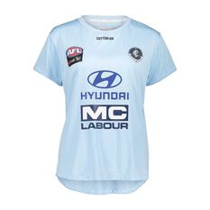 Carlton Blues AFLW 2018 Womens Training Tee, , rebel_hi-res