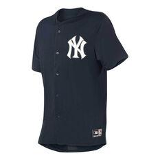 New York Yankees Mens Replica Jersey Navy Navy S, Navy, rebel_hi-res