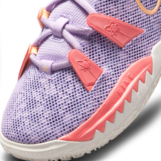 Nike Kyrie 7 Daughters Azurie Kids Basketball Shoes, Lilac, rebel_hi-res