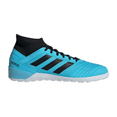 adidas Predator 19.3 Indoor Soccer Shoes Blue / Black US Mens 7 / Womens 8, Blue / Black, rebel_hi-res