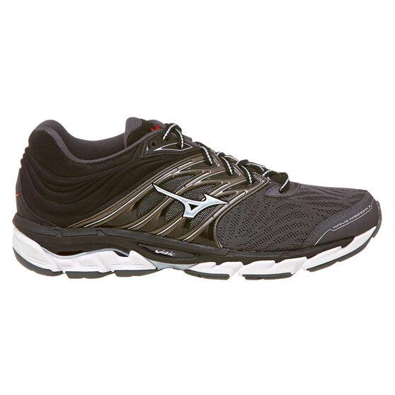 Mizuno Wave Paradox 5 Mens Running Shoes Grey US 8.5, Grey, rebel_hi-res