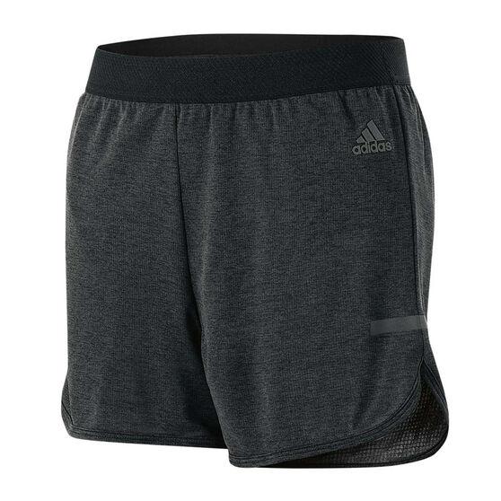 adidas Girls Climachill Running Shorts Black 8, Black, rebel hi-res c3ff0d74b5