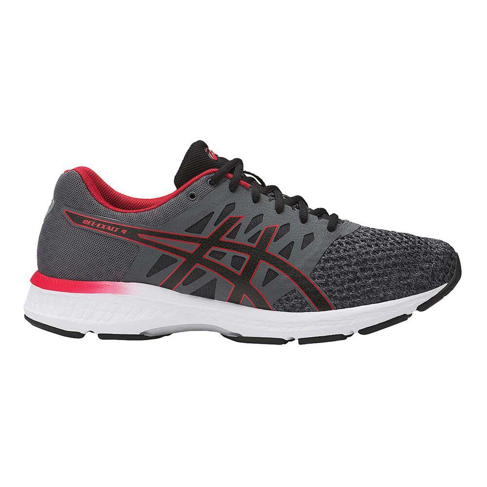 178e96dcfb92 Asics GEL Exalt 4 Mens Running Shoes Black   Grey US 07