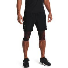 Under Armour Mens Launch 7in Running Shorts Black S, Black, rebel_hi-res